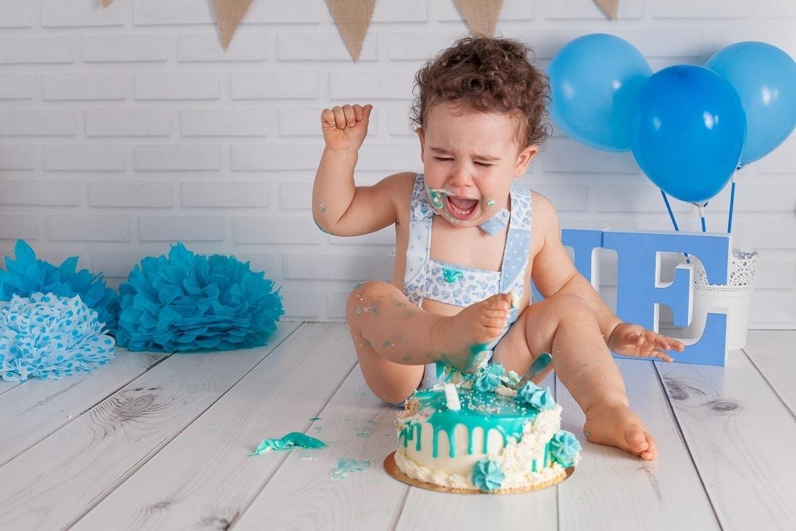 fotos de cake smash fotografia en estudio campo de gibraltar algeciras